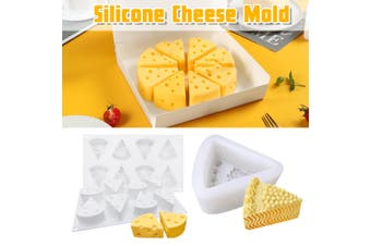 Simulation Silicone Cheese Mold Cookie Chocolate Soap Mold Baking Mould Tool
