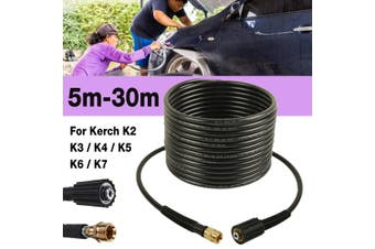 15m Pressure Washer Hose 40MPa 5800PSI For Karcher K2 K3 K4 K5 K7(15 m)