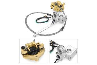 【Free Shipping + Flash Deal】Hydraulic Front Disc Brake Caliper Pad System For Honda Monkey Z50 Bike Z50R