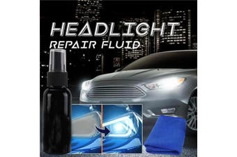 50ML Car Headlight Maintenance Clean Refurbishment Fluid Car Scratch Remover Fluid Repair Kit