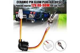1/2Pcs 12V 88-98W 2 Ceramic Pin Glow Plug Air Diesel Parking Heater For Car Truck D2 D4 D4S(1 Pc Color Random)