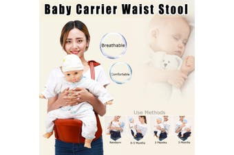 Multifunctional Baby Infant Carrier Waist Stool Front Sling Belt Straps Hip Seat(navyblue,Normal NavyBlue)