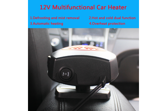 DC 12V 150W Auto Car Portable Heater Heating Fan Windscreen Demister Defroster