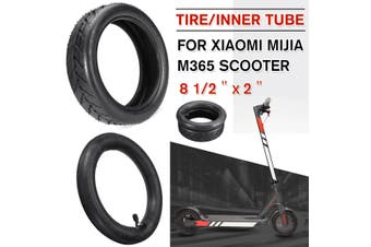 Upgraded Original CST Xiaomi Mijia M365 Scooter Tire Inflatable Tyre 8 1/2X2(Tyre)