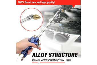 Air Power Siphon Engine Oil Cleaner Cleaning Degreaser Pneumatic Tool