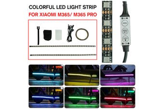 Colorful LED Light Strip Bar Lamp For Xiaomi M365 / M365 ElPro Electric Scooter