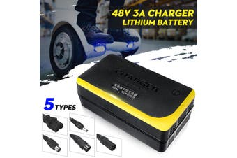 48V 3A Charger for Skateboard Lithium Battery Single-wheeled Electric Bicycle 8H(Type A 48V 3A)