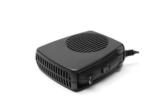 2-in-1 Auto 12/24V Car Ceramic Vehicle Portable Heating Cooling Heater Fan Ceramic Windscreen Demister Defroster (Color: Black)(24V)