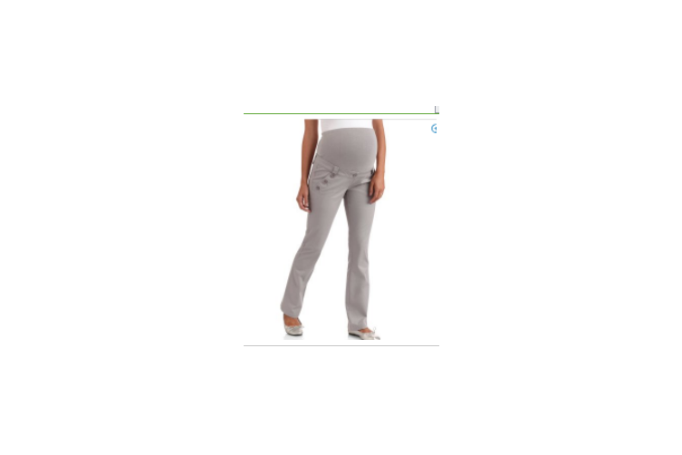 M-5XL Maternity Clothes Casual Maternity Pants Pregnancy Elastic Waist Pockets Button Pregnant Trousers(grey,4XL)