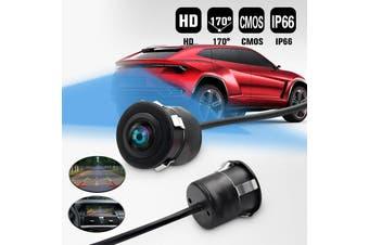170° Anti Fog Waterproof Car Auto Rear View Backup Reverse Parking Camera CMOS(black)