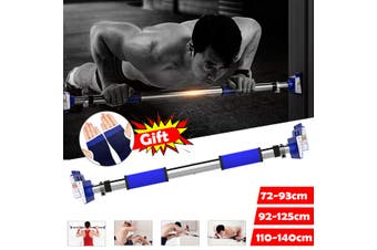 Pull Up Bar Home Sport Fitness Body Training Exercise Chin Up Workout Door Way(72-93cm)