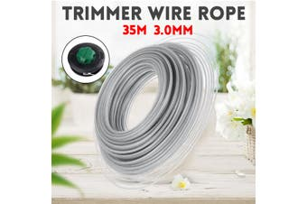30M 3MM PETROL STRIMMER TRIMMER STRING NYLON SPOOL LINE GRASS WIRE ROPE CORD NEW