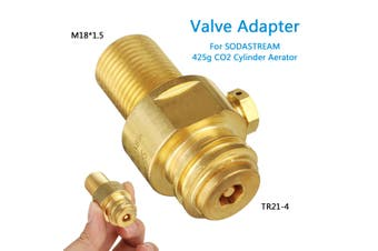 Valve Adapter for SODASTREAM 425g CO2 Cylinder Aerator Carbonic Acid