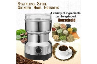100~200W 110V/220V Electric Stainless Steel Grinding Milling Machine Coffee Bean Grinder Good gift