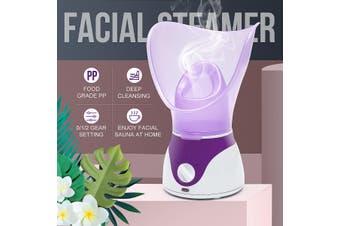 220V Facial Steamer Steam Moisturizing Sprayer Face Spa Deep Cleanser Skin Care