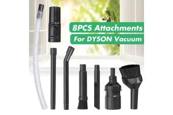 8Pcs Vacuum Cleaner Brush Flexible Tube Accessories Tool Kit Bag For Dyson V6