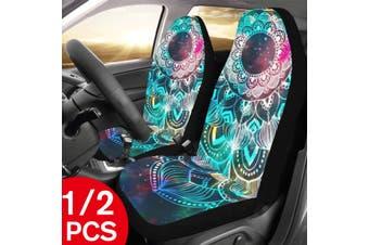 1Pcs Car Seat Covers Front Car Seat Cushions Seat Pad Auto Car Interior Accessories for Honda Toyota Nissan Mazda(Datura(1PCS))