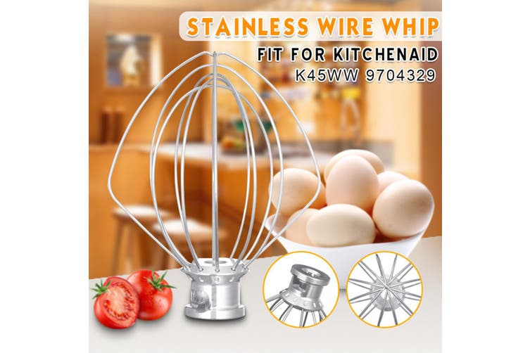 Home Kitchen Electric Wire Whip Mixer Low Noise For KitchenAid K45WW 9704329(S)