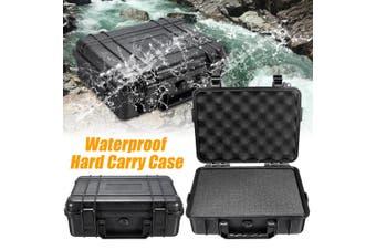 Waterproof Hard Plastic Carry Case Bag Tool Foam Padded Storage Box Portable Box(180X120X50mm)