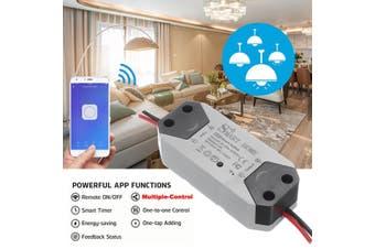 WiFi Wireless Remote Control Smart Switch Module ABS Shell Socket Mobiles APP AC90-250V