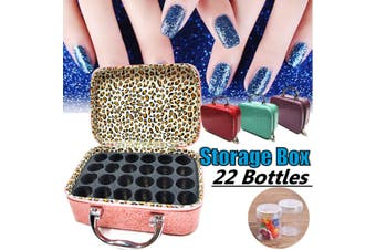 22 Bottles Diamond Painting Container Diamond Storage Hand Bag Case 5D Embroidery(pink,With 24 Bottles)