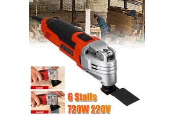 720W Variable Speed Swing Tool Set Trimmer Sanding Polish Oscillating Multi-Tool(Normal Type)