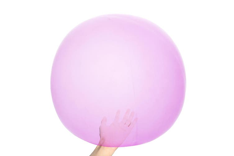The Amazing tear resistant WUBBLE Bubble Ball - Brand New Kids Toy PINK