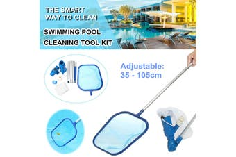 Portable Swimming Pool Jet Vacuum Head Fountain Cleaning Tool Set Cleaner Net