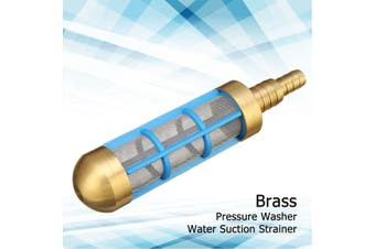 """Brass Pressure Washer HD 3/4"""" 1/2"""" Hose Water Suction Strainer Pickup Filter"""