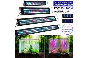 120cm Aquarium Full Spectrum LED Light Plant Fish Tank Lamp Natural Lighting