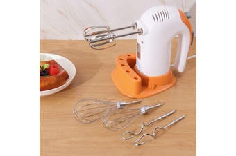 300W Electric Egg Beater Hand Mixer Stainless Steel Whisk Milk Cake Flour Baking