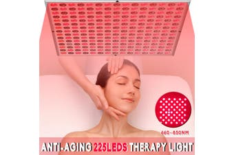45W Anti-Aging 225 Led Therapy Panel 660nm 850nm Infrared Therapy Light Lamp Women Lady Body Skin Care Tool