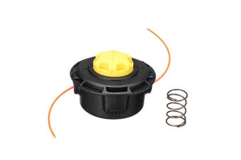 Trimmer Head Easy Reel Strimmer Spool Line Yellow for RYOBI 5132002578 RAC115 Lawnmower Garden Tool Parts Trimmer Head Kit