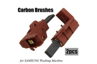 2x Washing Machine Motor Carbon Brush Holder For Washing Machine P1443 P1447 WF-B125N WFB1467NUV