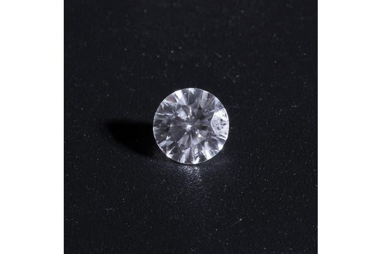 0.68cts VVS1 6mm White Natural Diamond Cut G Color Round Shape Brilliant