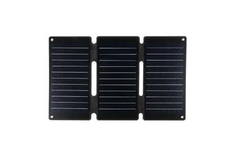 Portable 20W/45W Solar Panels 5V Folding Solar Cells Sun Power Charger Mobile Power Bank for Phone Battery USB Port Outdoor(black,45W)