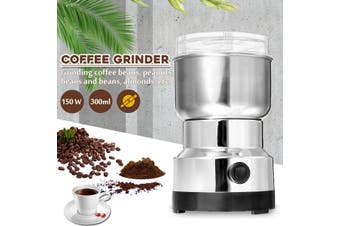 220V Electric Coffee Grinder Grinding Milling Bean Nut Spice Matte Blender