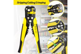 Wire Stripper,Self-adjusting Cable Cutter Crimper,Automatic Wire Stripping Tool/Cutting Pliers Tool for Industry
