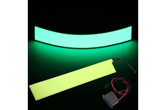 12''x2'' 12V EL Tape Electroluminescent Panel Back Light & Inverter 6 colors New Green - Green(lemon,12)