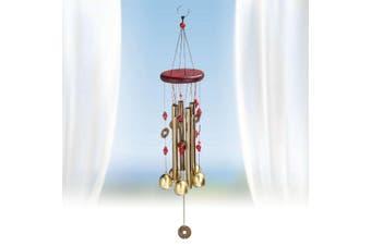 4/10/13 Tubes Windbell Wind Chime Garden Yard Outdoor Noisemaker Feng Shui Decor