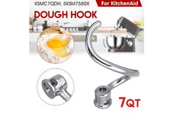Spiral Dough Hook For KitchenAid Mixer 7 QT KSMC7QDH 5KSM7580X Stainless Steel