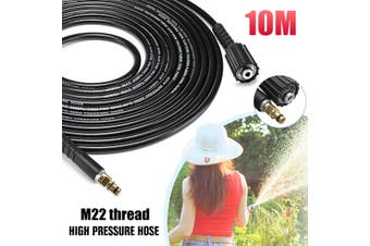 6m/ 8m/10m High Pressure Water Cleaning Hose for Karcher K2 K3 K4 K5 K6 K7 High Pressure Washers(10 m)