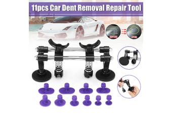 Pro Car Vehicle Paintless Dent Puller Slide Repair Removal Tool Set +10 (11pcs)