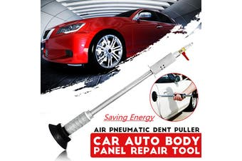 Car Auto Body Repair Air Pneumatic Dent Puller Suction Cup Slide Tool Hammer Kit(silver,Dent Puller)
