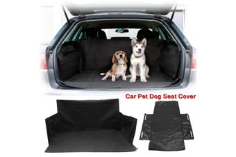 Waterproof Pet Dog Car Trunk Boot Seat Cover Cushion SUV/Trunk Protector Liner Mat Oxford