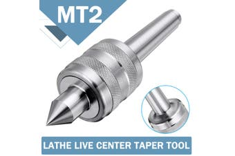 MT2 Lathe Chuck Live Turn Center Taper Triple Bearing Heavy Duty Woodworking(Type 2)