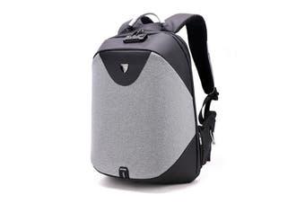Anti - theft computer backpack outdoor backpack backpack USB charging bag #storage pocket(blackbrown,Storage package)