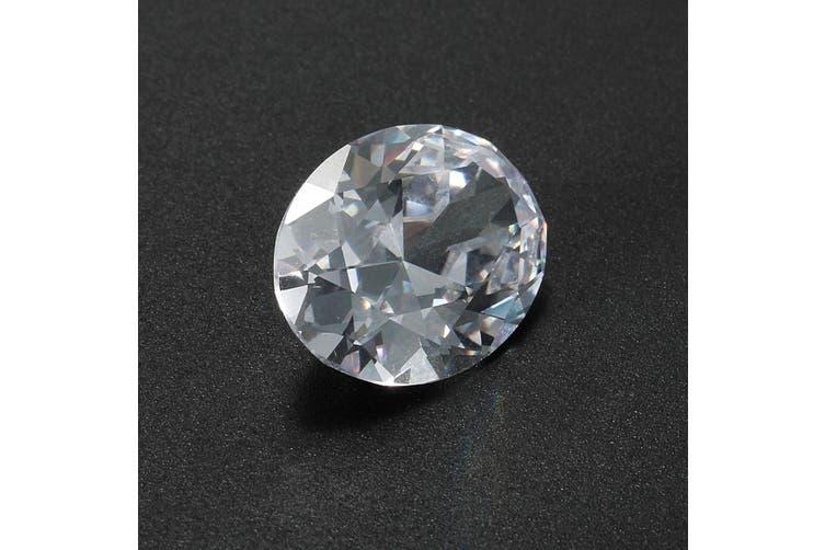 HUGE Unheated 56.66ct VVS White Sapphire 18X25mm Oval Cut AAAA Loose Gemstone(white,3)