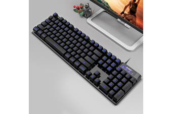 Ajazz Backlight gaming keyboard Handfeel mechanical Cable Home computer Laptop(Style 4)