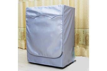 Washing Machine Dustproof Zipper Cover Turbine Roller Protect Waterproof # L(L)